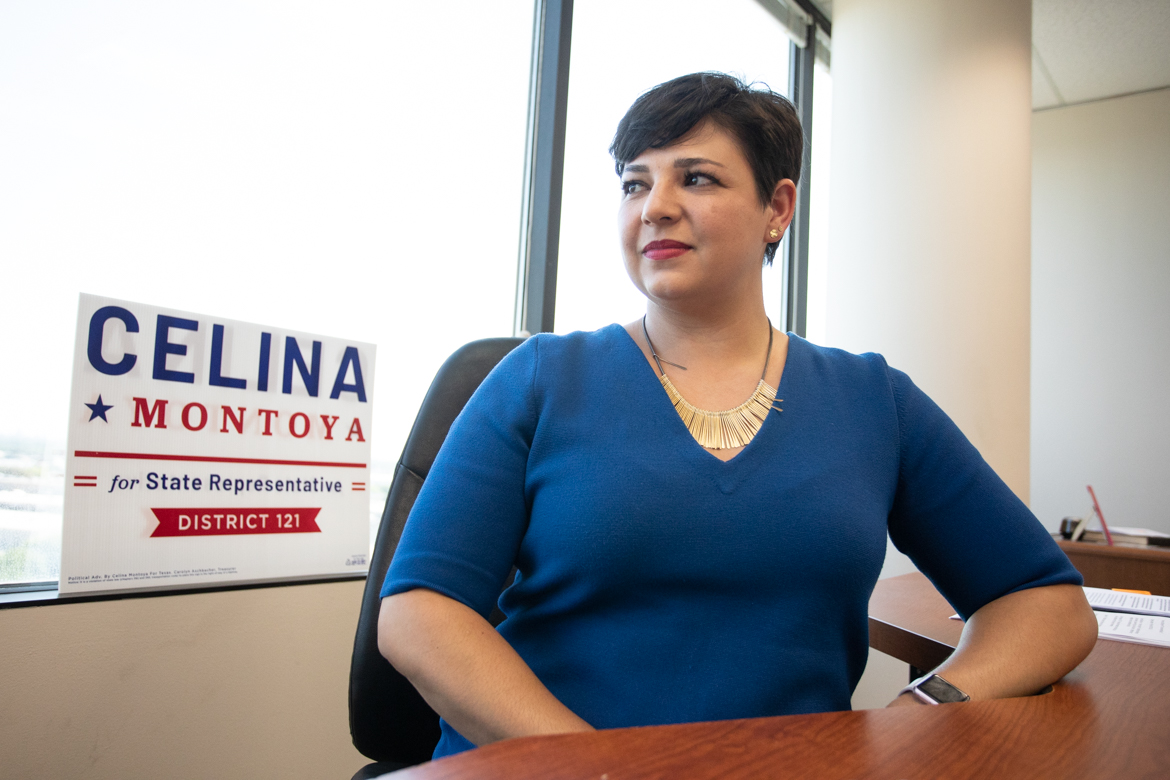 Celina Montoya is running for State Representative (D-121).