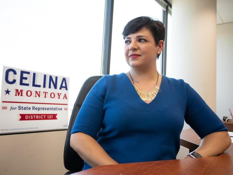 Celina Montoya is running for State Representative (D-121).