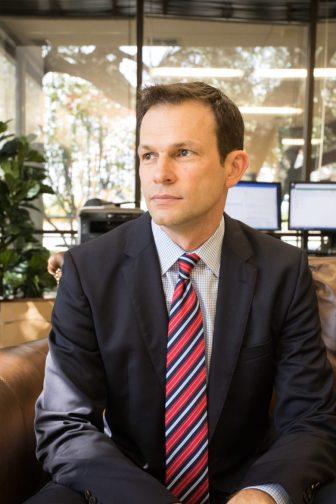 Brent Fessler, Hallmark University president.