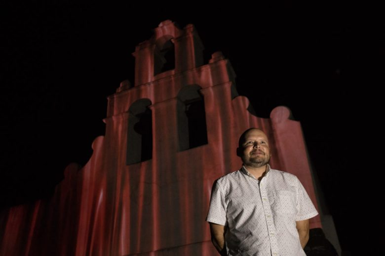 Louis Vega Treviño is the artist behind a special version of Restored by Light.