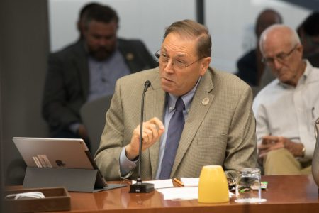 Councilman John Courage (D9) disagrees with the Alamo plan as it currently stands.