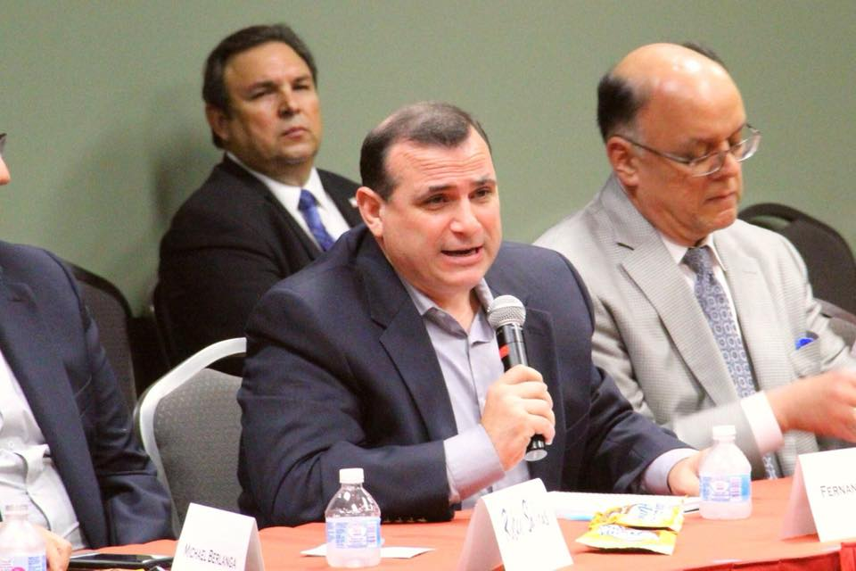 Fernando Padron is the Republican candidate for House District 116.