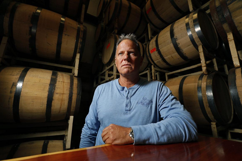 Rebecca Creek Distillery Co-Founder Steve Ison.