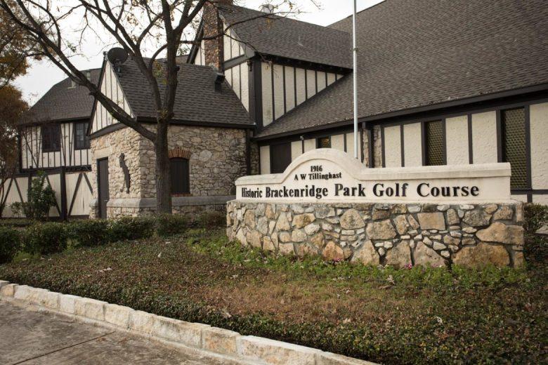 Historic Brackenridge Park Golf Course.