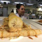 Chef Cariño Cortez prepares a dish.