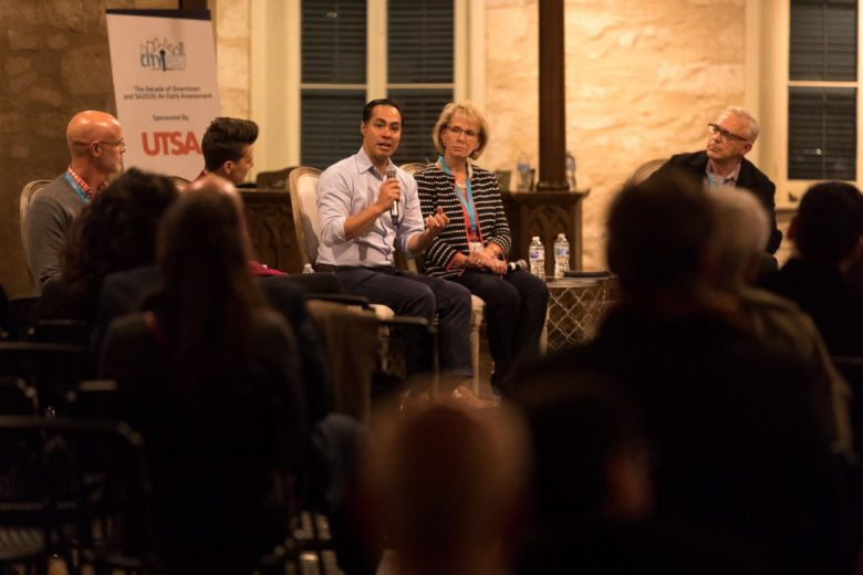 Former Secretary of Housing and Urban Development and former San Antonio Mayor Julian Castro speaks to the impetus of the decade of downtown.