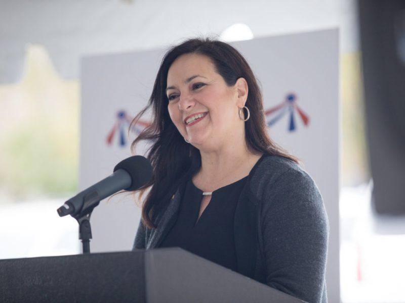 North San Antonio Chamber of Commerce President Cristina Aldrete.