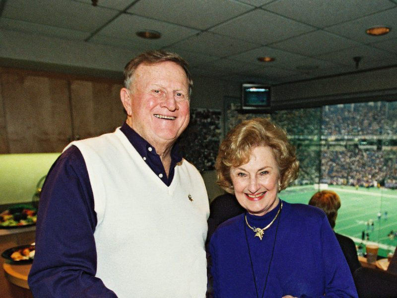 Red McCombs and Charline McCombs