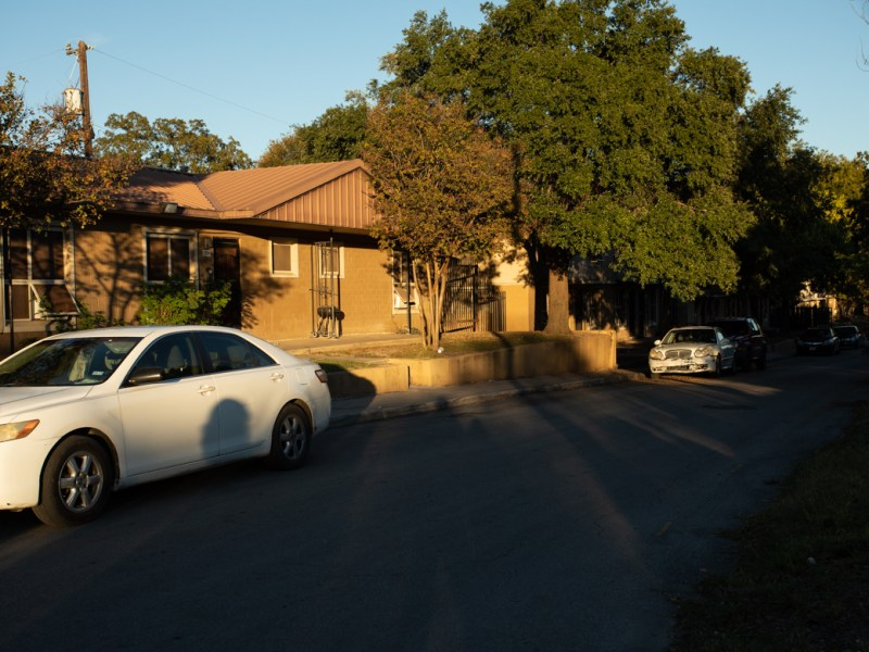 The Alazan-Apache Courts, the oldest public housing project in San Antonio.