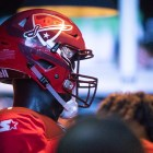 The San Antonio Commanders official helmet.