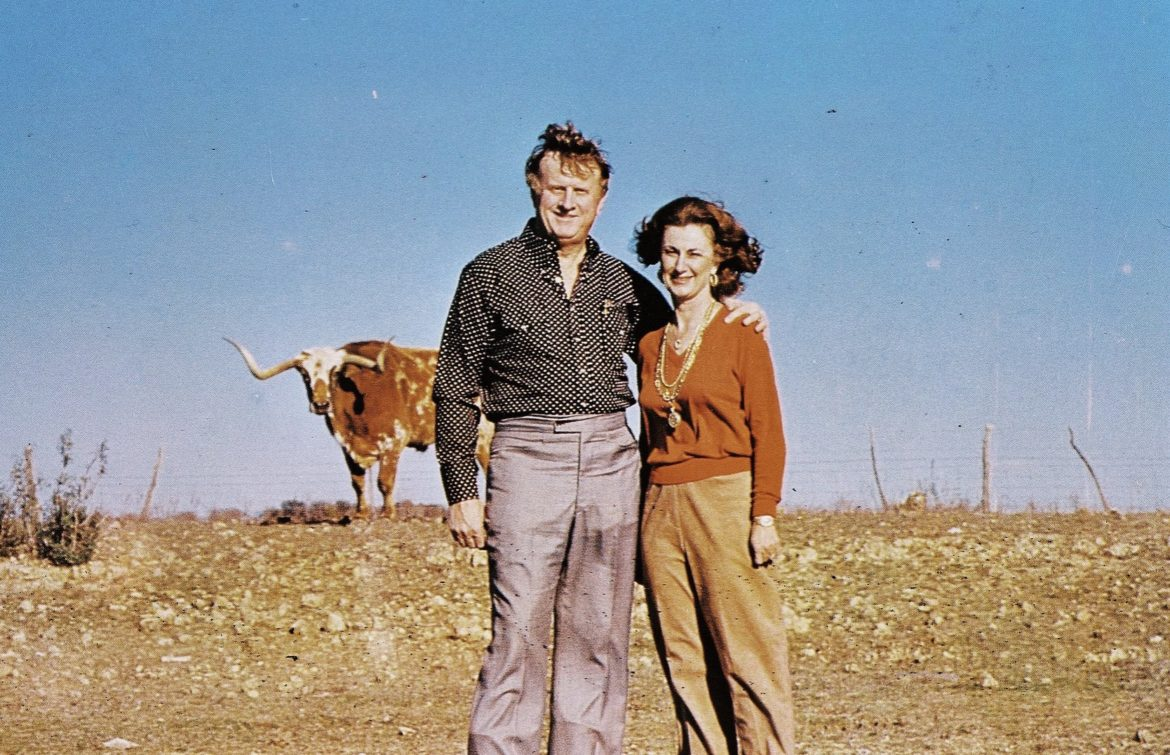 Red and Charline McCombs.