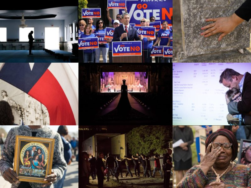 The Rivard Report's 2018 in Photographs.