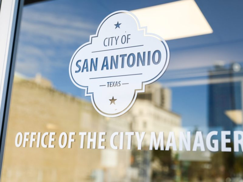 The office of the City Manager.