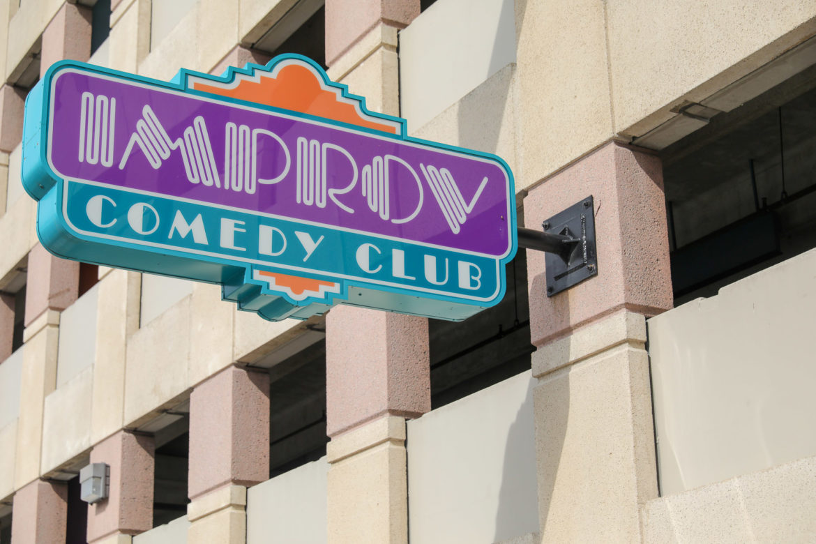 The Improv Comedy Club in downtown San Antonio is closing.