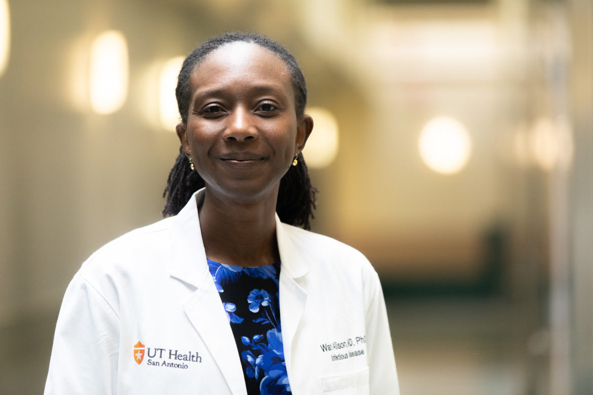 Waridibo Allison Assistant Professor in the Divison of Infectious Disease.