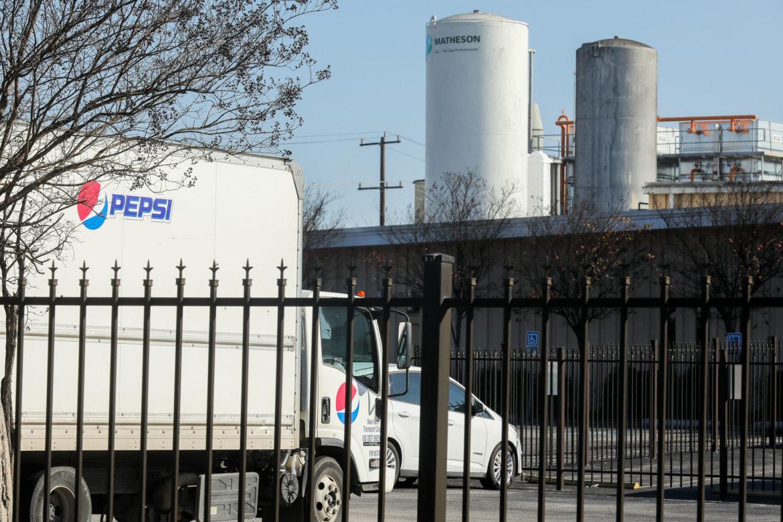 The Pepsi facility at at 6100 NE Loop 410.