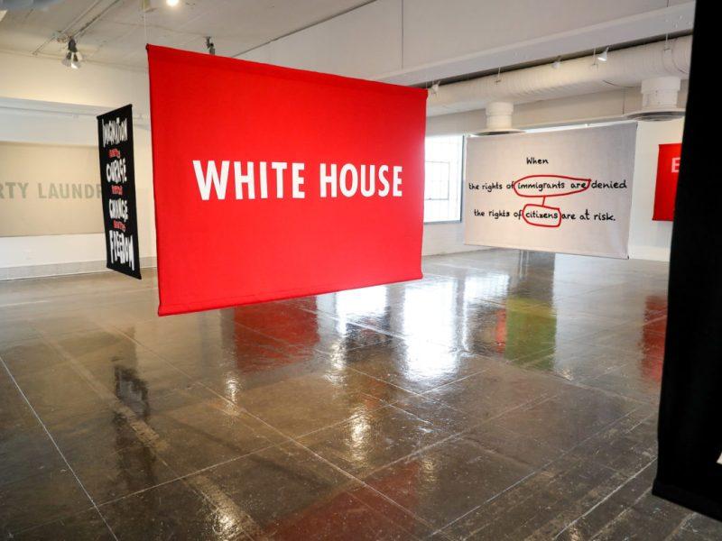WHITE HOUSE Jenny Holzer