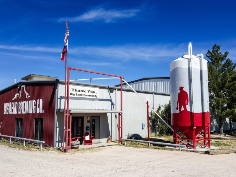 Big Bend Brewing Co. in Alpine, Texas.