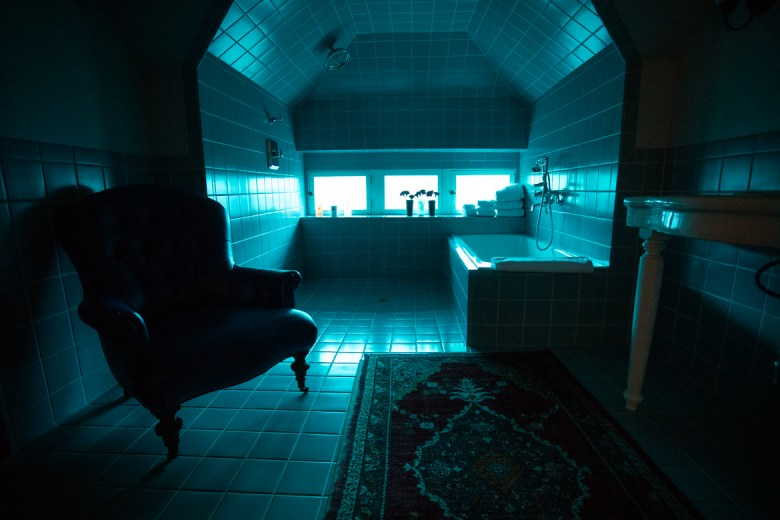 The bathtub in the Penthouse of Hotel Havana.