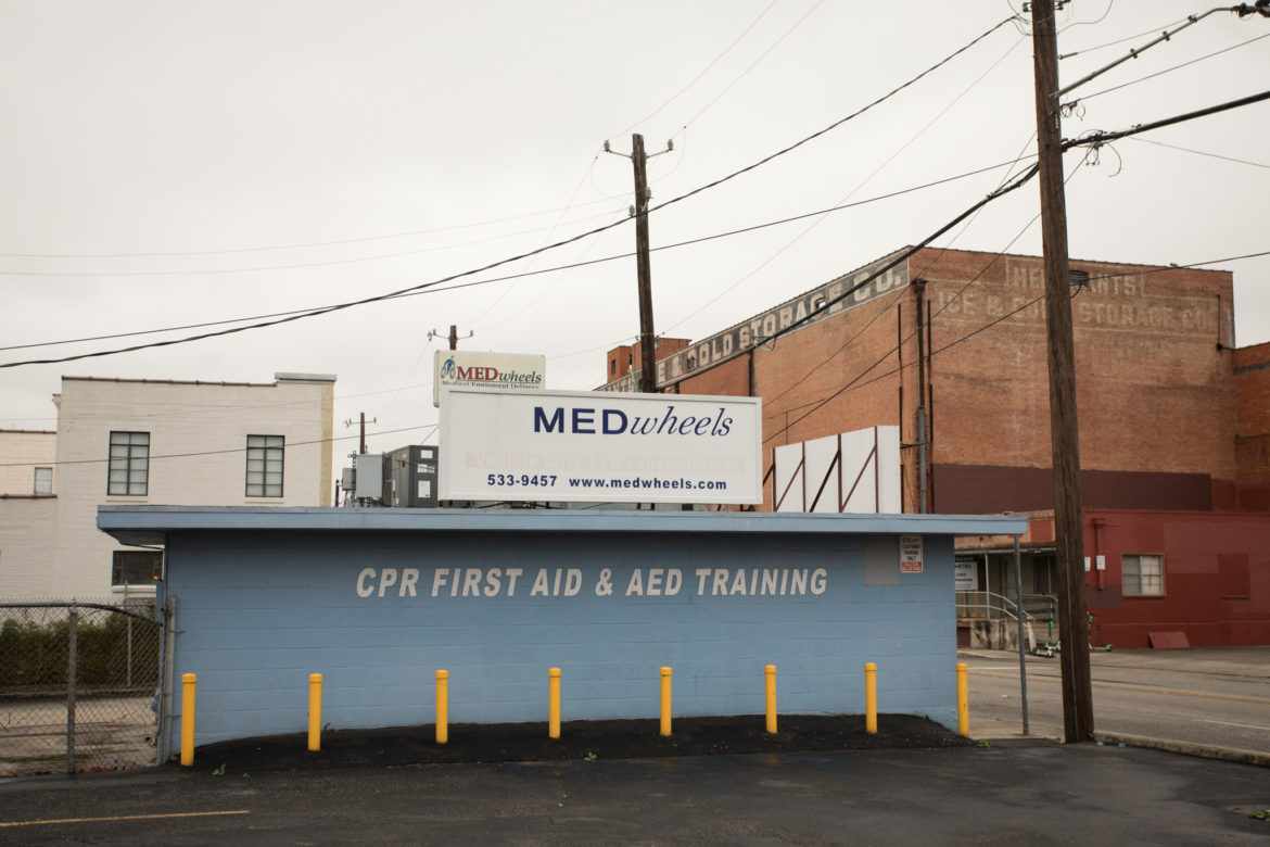 MEDwheels, Inc. is located at 1322 E. Houston St.