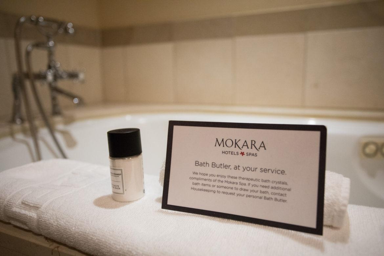 A bathtub in the Mokara Hotel & Spa.