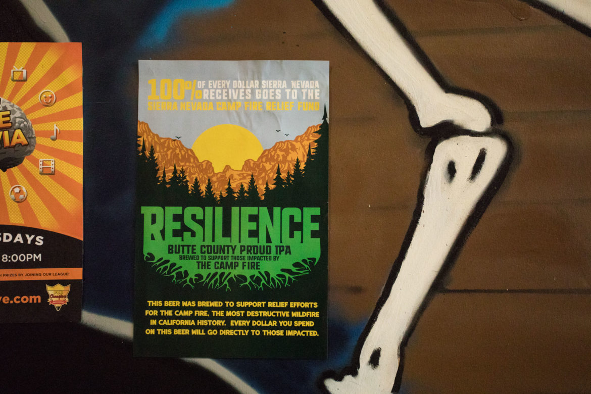Resilience Butte County Proud IPA is served at Freetail Brewing Company, located at 2000 S. Presa St.