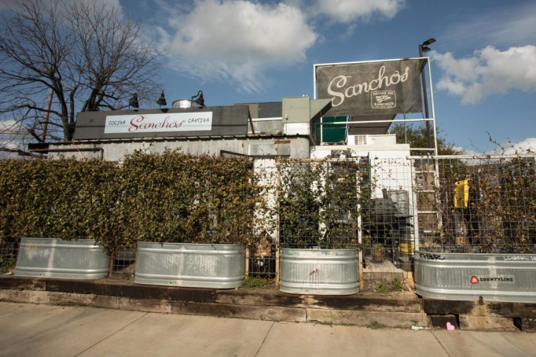 Sanchos Cantina & Cocina is located in the Five Points neighborhood.