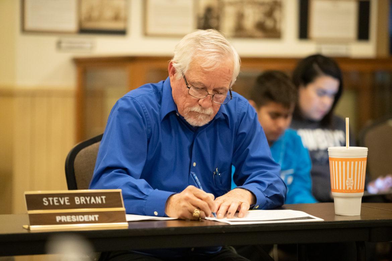 East Central ISD Board President Steve Bryant.
