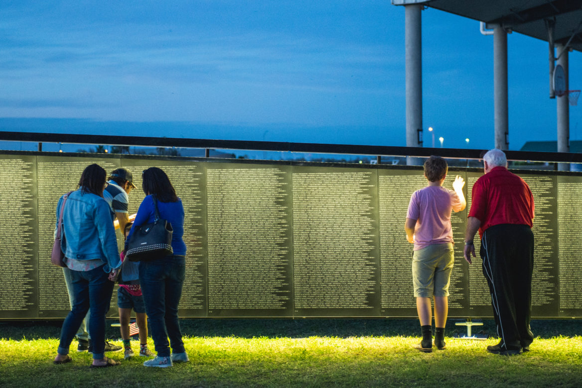 The Wall That Heals, a three-quarter-size replica of the Vietnam Veterans Memorial, is coming to San Antonio Feb. 28 through March 3.