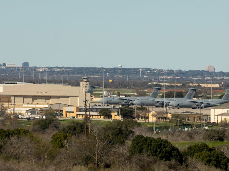 A sewage line greater than 5 miles will be constructed around Lackland Air Force Base serving hundreds of thousands SAWS customers.