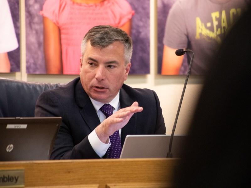 Superintendent Brian Woods.