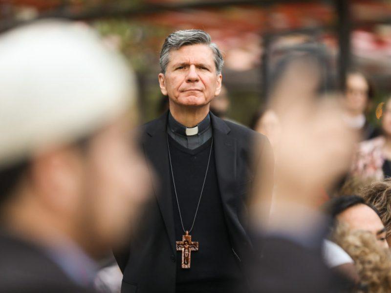 Archbishop Gustavo García-Siller.