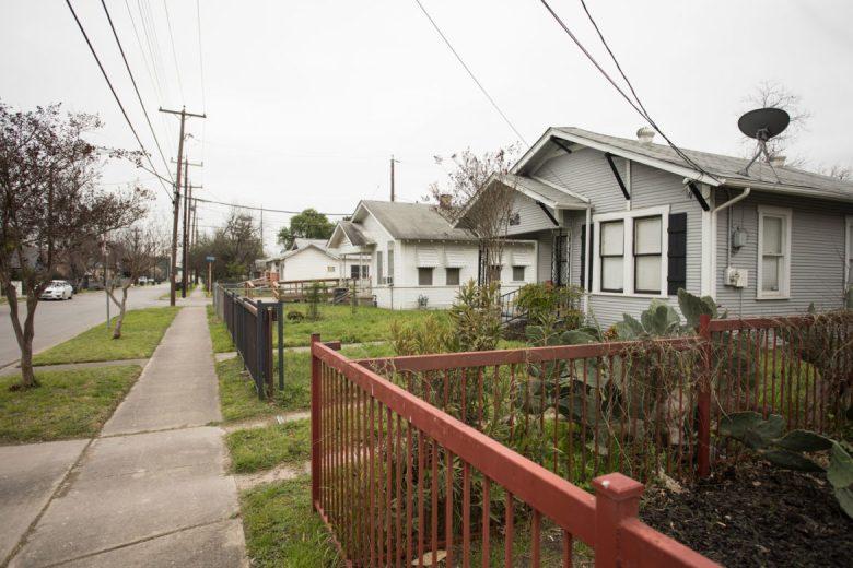 The Lone Star District neighborhood.
