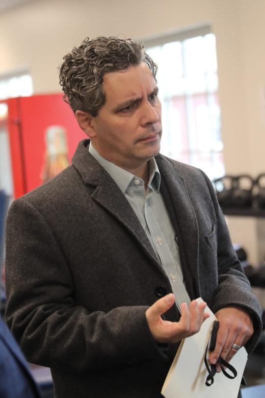 Danny Derrick, architect and principal at Wigodsky & Derrick Architects