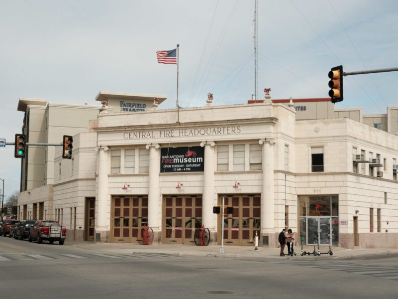 The San Antonio Fire Museum is located at 801 East Houston in the former central headquarters for the SAFD.