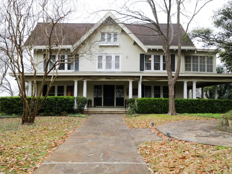 The McAllister family house in Terrell Hills.