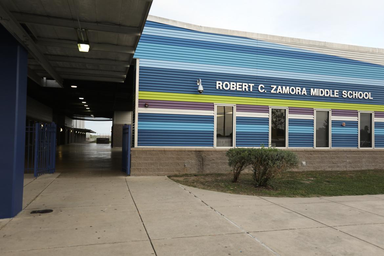 Robert C. Zamora Middle School.