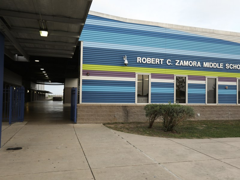 Robert C. Zamora Middle School.