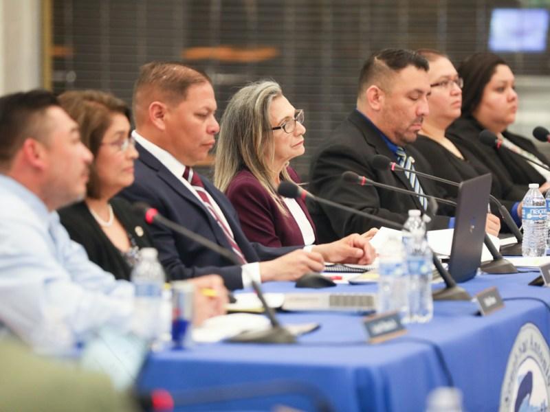 The South San Antonio ISD school board.