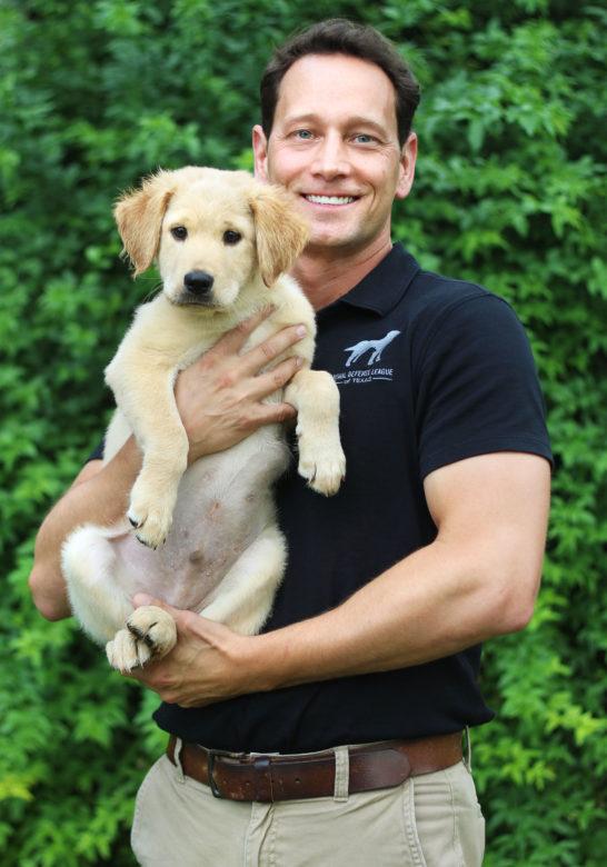 Joel McLellan is the Animal Defense League of Texas's new Executive Director.