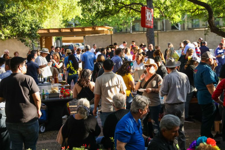 Food and wine vendors featuring a variety of flavors and cuisines brought hundreds to the Taste of the Republic.