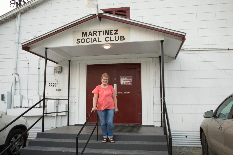 Martinez Social Club manager Barbara Dean.