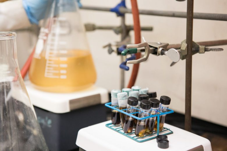 Chemistry lab at UTSA