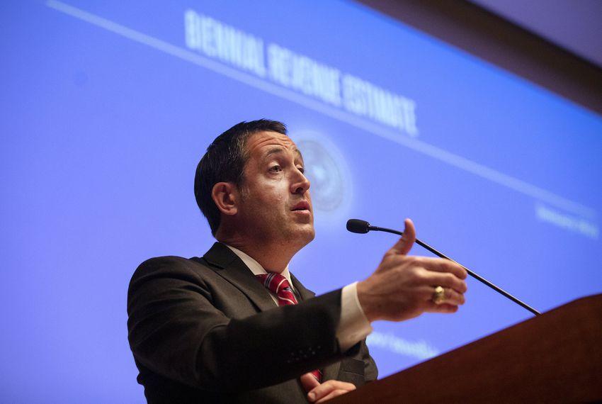 Comptroller Glenn Hega
