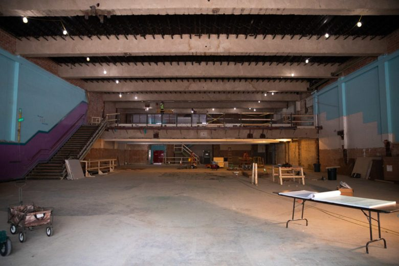 The Grant Building features large cavernous space left behind by the San Antonio Children's Museum.