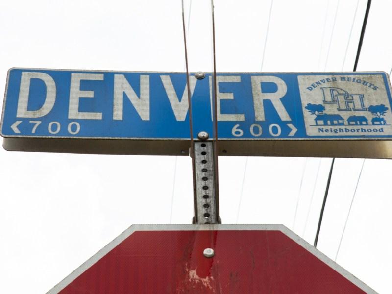 The 700 block of Denver Boulevard.