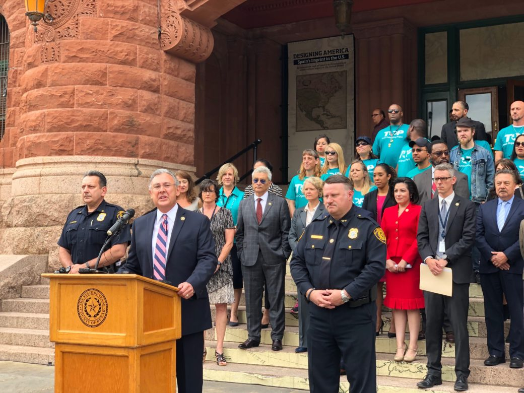 DA Joe Gonzales announced some new policies from his office Thursday, including not prosecuting minor drug possession cases.