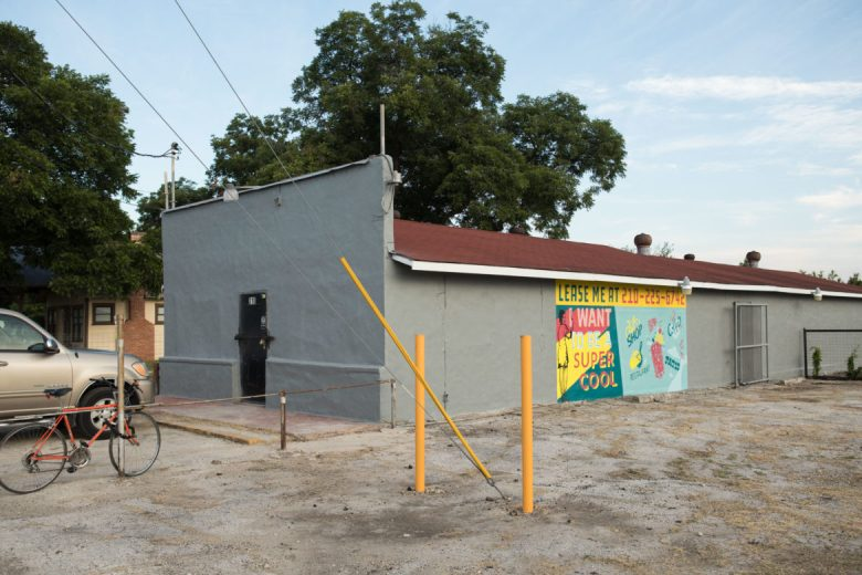 This site is available for rental across the street from South Side Living and Maker Spaces.