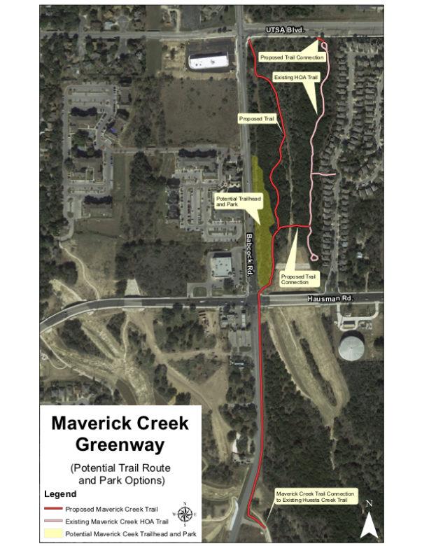 The Maverick Creek Greenway