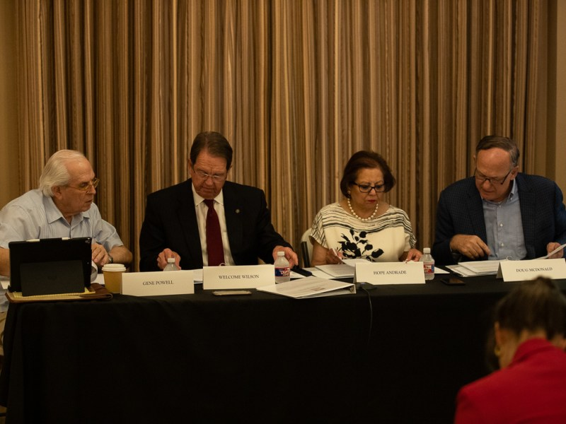 Alamo Trust Inc, Annual Board of Directors Meeting at 300 Alamo Plaza, Alamo Hall on June 18, 2019